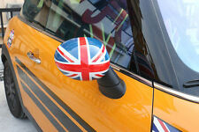 Red UNION JACK Side Mirror Covers Wing Caps Fit BMW MINI Cooper F55,F56 2014-16
