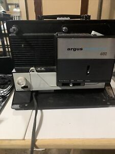 Argus Showmaster Model 462 Super Eight 8 MM Film Movie Projector - Working