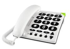 Doro PhoneEasy 311c Téléphone Fixe pour les personnes âgées boutons grands