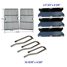 For Jenn Air Gas Grill 720-0336 Replacement Burners, Heat Plates,  Grid Grate