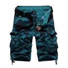 Summer Mens Military Army Cargo Shorts Tactical Combat Half Pants Camo Bottoms