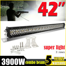 42inch Barre Longue Portée LED Light Bar spot flood offroad 4x4 Offroad Lamp 40""