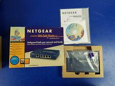 Netgear Cable/Dsl Web Safe Router Rp114 w 4 Port 10/100 Mbps Switch