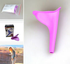 Portable Camping Urinal Funnel Female Woman Emergency Standing UP Pee A179