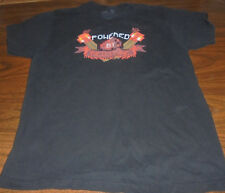 Minecraft Powered by Redstone shirt size Large L  Video Gaming Game RARE