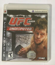 Sony PS3 PlayStation 3 UFC 2009 Undisputed
