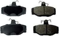 Disc Brake Pad Set-ProSolution Semi-Metallic Brake Pads Rear Monroe FX391