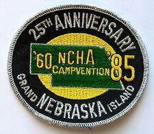 New listing 1985 Grand Island NE NCHA National Camping Hiking Association Campvention Patch
