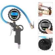 Digital Tire Pressure Gauge Air Inflator 220psi for Bike Car Truck Motorcycle