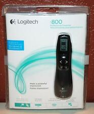 NIB LOGITECH R800 PROFESSIONAL PRESENTER WINDOWS 7 & 8 LCD DISPLAY ~101~