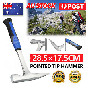 Geological Rock Pick Pointed Tip Hammer Geology Prospecting Gold Shock Reduction