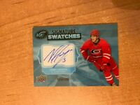 2017-18 Upper Deck UD Ice - Noah Hanifin - Signature Swatches Auto #'d /150