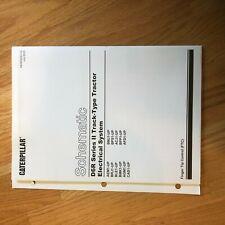 CAT CATERPILLAR  D6R DOZER ELECTRICAL  SCHEMATIC MANUAL  DIAGRAM