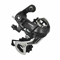 Shimano Tourney TX35 7s/8s Speed MTB Bicycle Rear Derailleur Bike Parts Black