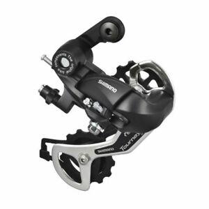 Black Shimano Tourney TX35 7s/8s Speed MTB Bicycle Rear Derailleur Bike Parts