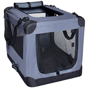 Dog Soft Crate 27 Inch Kennel for Pet Indoor Home & Outdoor Use - Soft Sided 3 -