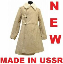 NEW USSR BEKESHA Original officers sheepskin coat TULUP Fur Bekishe 50 52 54 S M