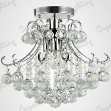 Plafonniers et lustres moderne en cristal pour la maison avec 4 - 6