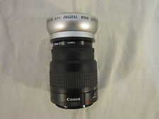 Canon 35-88mm Carera w/ Titanium Vision Optics Digital Wide Lens Attachment 6277