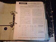 Grundig Service Manual HIFI RTV 380 ecc. 1 pezzi scegliere/CHOOSE 1 piece