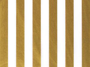 "STRIPE Design Gift Grade Tissue Paper Sheets 15"" x 20"" Choose Color & Package"