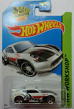 2014 Hot Wheels HW WORKSHOP Nissan 370Z 249/250 (White Version)