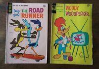 1969 Beep Beep The Road Runner and 1973 Woody Woodpecker Comic Books