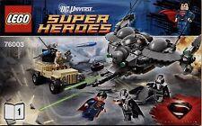 Lego Super Heroes # 76003 Battle of Smalville - Bauanleitung (keine Steine!)