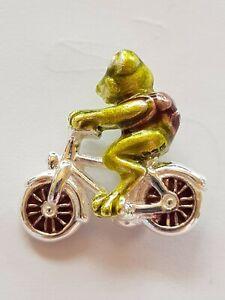 HEARTBREAKER by DRACHENFELS frosch auf fahrrad FROGGY LD-MN-33 neu