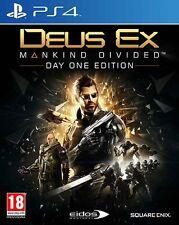 Deus Ex: Mankind Divided D1 Edition PS4 - totalmente in italiano
