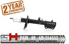 2 NEW REAR  SHOCK ABSORBERS FOR TOYOTA COROLLA E11 1997-2001 /  GH-354552H /