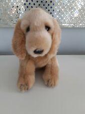"New listing 2012 F.A.O. Toys R Us Labrador Golden Retriever Puppy Dog Plush 9"" Stuffed Anima"
