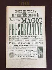 1920's France's Magic Preservative Poster • A Del-Mar-Va Product