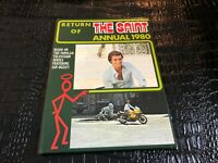 1980 RETURN OF THE SAINT ANNUAL -  hard cover book ( NOS )