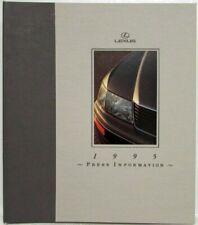 1995 Lexus Full Line Press Kit - LS400 GS300 SC400 SC300 ES300