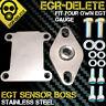 Vauxhall Astra Vectra 1.9 CDTI 150 EGR DELETE EGT sensor probe BOSS not gauge