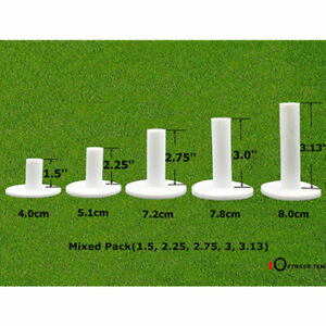 Dura Rubber Golf Tees 5 Pack Driving Range Practice Mat Tees Sporting Goods US