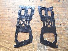 ALIGN TREX 450 marco inferior de fibra de carbono lados (par)