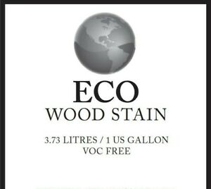 Eco Wood Stain, 1 Gallon, Weathered Wood, VOC Free, Eco Friendly, Wood Treatment