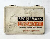Vintage 1960's Sportsman First Aid Kit by Johnson & Johnson With Snakebite Unit