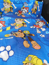new paw patrol  3 SIZES  ` SPACESAVER`COT OR COTBED BUMPER SET