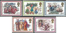 Great Britain 1982 CHRISTMAS CAROLS Unhinged Mint (5) SG1202-6