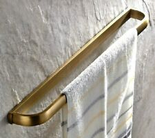 Antique Brass Wall Mounted Single Towel Bar Holder Bathroom Accessories zba174