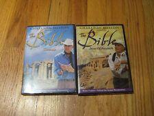 Charlton Heston Presents The Bible, 2-Disc Set. Genesis& Jesus Of Nazareth. New!
