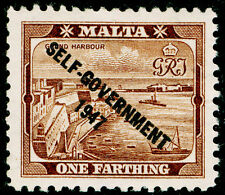 Sg234, 1/4d brown, UNMOUNTED MINT.