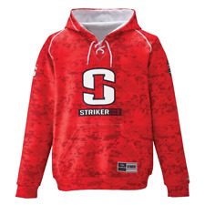 Striker Ice Hockey Hoody, Camo Red, XX-Large 916216