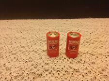 2 Vintage C Size Alkaline Battery (s) Everready Mid Century Usa Transistor 1.5V
