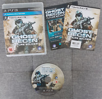 Tom Clancy's Ghost Recon: Future Soldier Sony PlayStation 3 PS3 PAL Tested