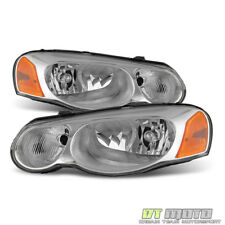 2004-2006 Chrysler Sebring Sedan & Convertible Headlights Headlamps Left+Right