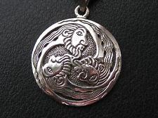 Sonnenrad 925'er Silber Ketten Anhänger Amulett Triskele    / KA 724